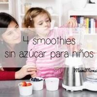 4 smoothies sin azúcar para niños