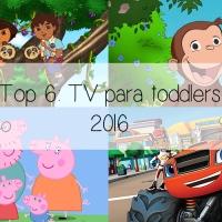 Top 6: TV para toddlers