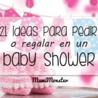 21 ideas para pedir o regalar en un baby shower